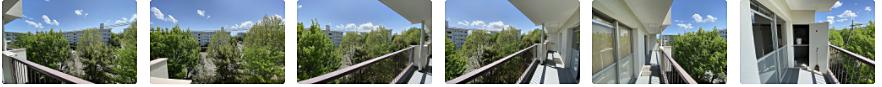 【動画】小鳥のさえずりの声も聞こえる『たまプラーザ団地』のバルコニーからの眺望