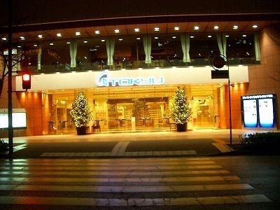 2010年 東急デパート入口前のクリスマスツリー