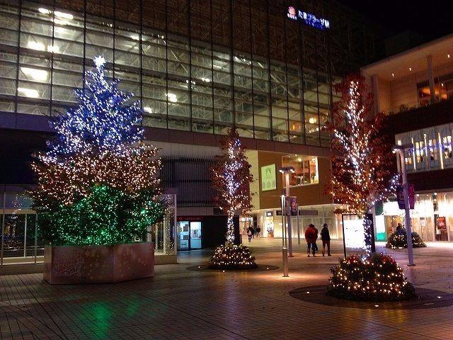 たまプラーザ駅北口 2013年 たまプラーザ クリスマス