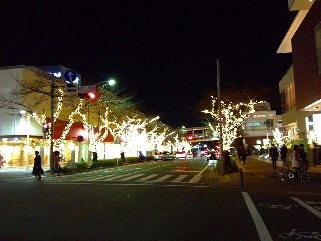 たまプラーザ駅前通り 2013年 たまプラーザ クリスマス