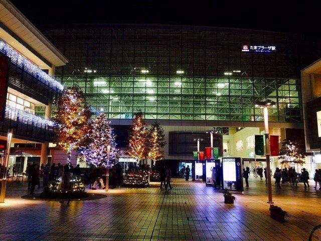2014年 クリスマスのたまプラーザ駅北口