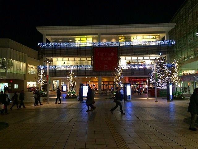 たまプラーザ駅北口 敷地内 2014年 クリスマスのたまプラーザ