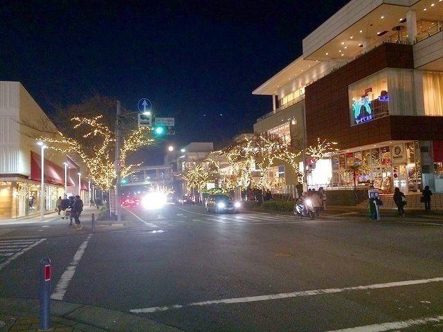 たまプラーザ駅前 (北口)2014年 クリスマスのたまプラーザ