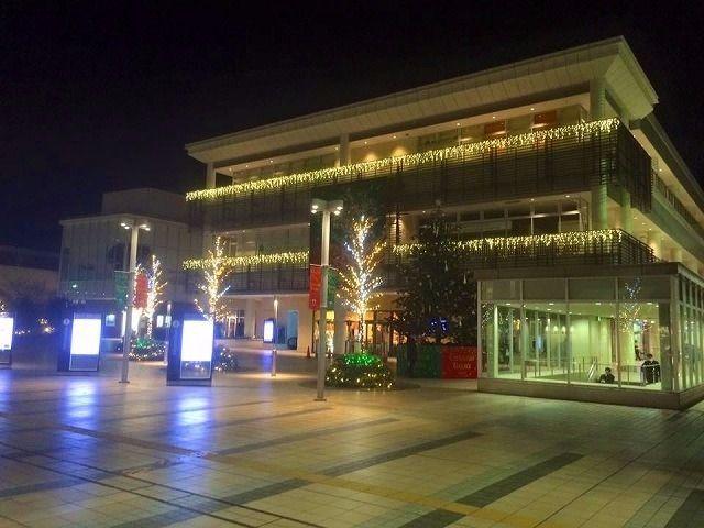 2015年 たまプラーザ クリスマス たまプラーザ駅構内・駅前通りの様子です。