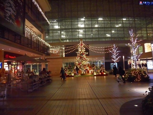 たまプラーザ駅北口 2016年 たまプラーザ クリスマス
